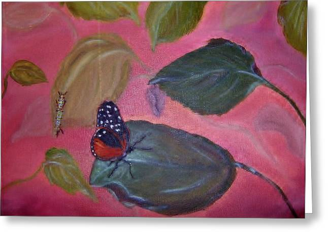 Cocoon Greeting Cards - Transformation  Greeting Card by Terriea Pullig