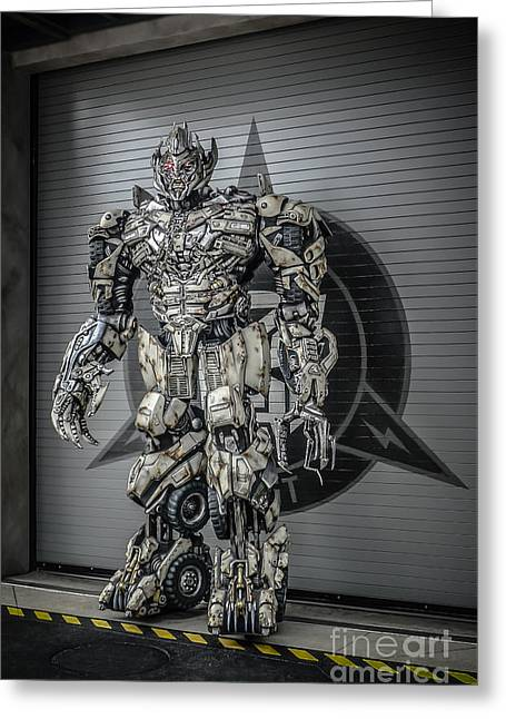 Transformer At Nest Greeting Card by Edward Fielding