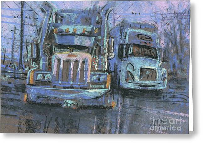 Transformer Greeting Cards - Transformers Greeting Card by Donald Maier