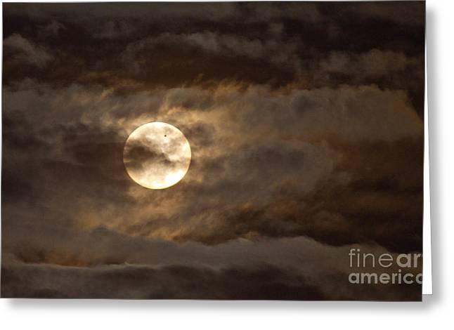 Transit Of Venus, 2012 Greeting Card by Babak Tafreshi