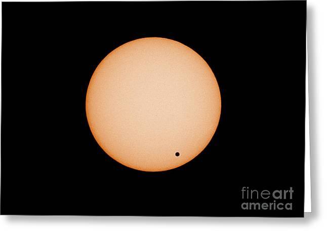 Transit Of Venus Greeting Card by Chris Cook