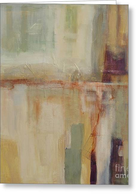 Subtle Colors Greeting Cards - Transition I Greeting Card by Virginia Dauth