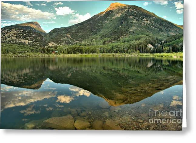 Marble Colorado Greeting Cards - Translucent Waters Greeting Card by Adam Jewell