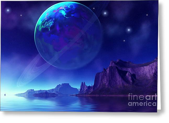 Star Valley Digital Greeting Cards - Tranta 3 Greeting Card by Corey Ford