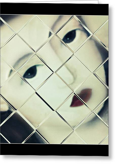Trapped Greeting Card by Susan Leggett