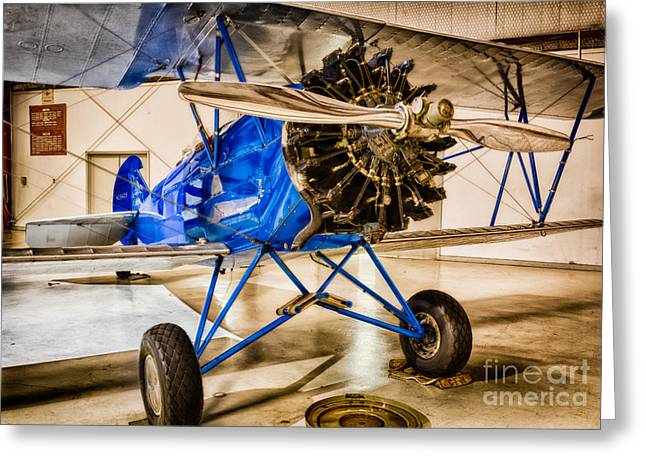 Aircraft Engine Greeting Cards - Travel Air 4000 Greeting Card by Inge Johnsson