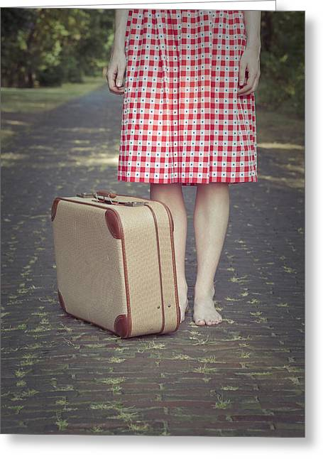 Lonelyness Greeting Cards - Travel Greeting Card by Maria Heyens