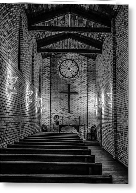"""""""prayer Room"""" Greeting Cards - Travelers Welcome Greeting Card by Lynn Sprowl"""