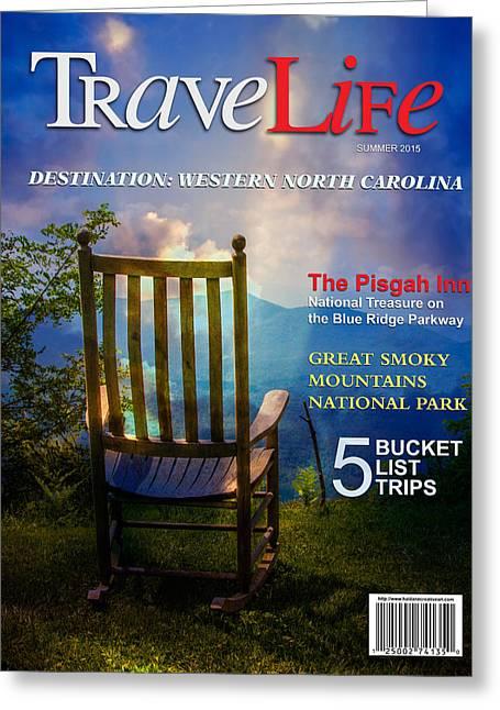 Pisgah Greeting Cards - TraveLife Magazine Greeting Card by John Haldane