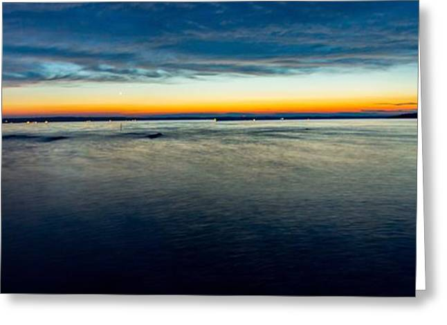 Traverse City Michigan in July Greeting Card by Theodore Michael
