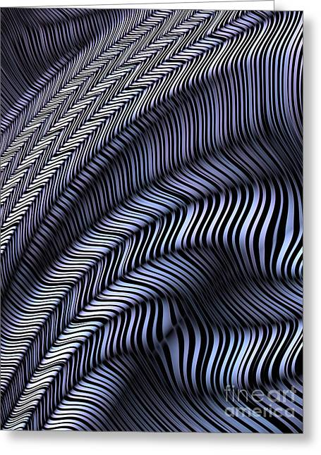 Fold Greeting Cards - Tread Pattern Greeting Card by John Edwards