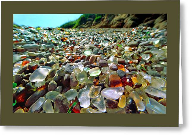 California Beaches Greeting Cards - Treasure Beach Greeting Card by Daniel Furon