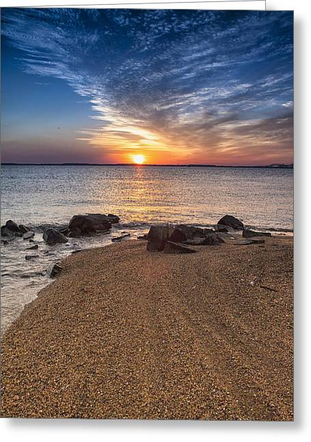 Sandy Point Park Greeting Cards - Treasure From The Vault Greeting Card by Edward Kreis