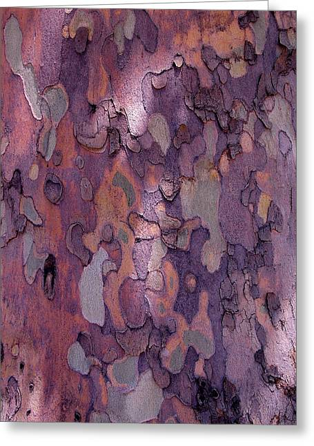 Tree Abstract Greeting Cards - Tree Abstract Greeting Card by Rona Black