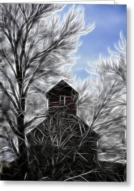 Kinkade Greeting Cards - Tree House Greeting Card by Steve McKinzie