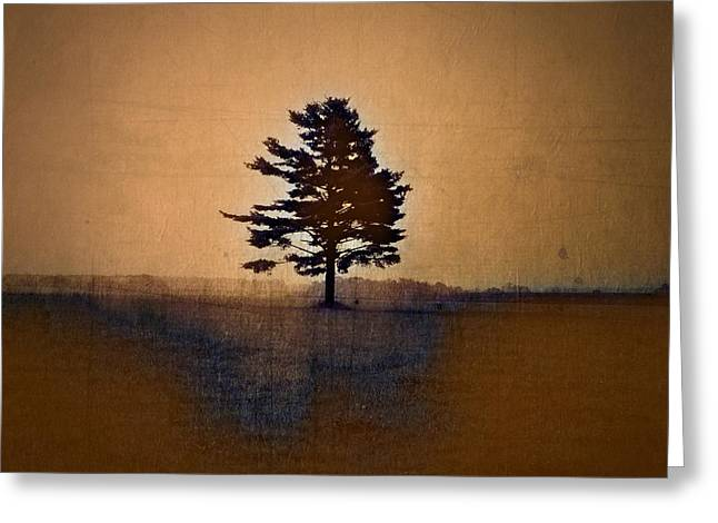 Lonesome Greeting Cards - Tree Journey - sp15bb Greeting Card by Variance Collections