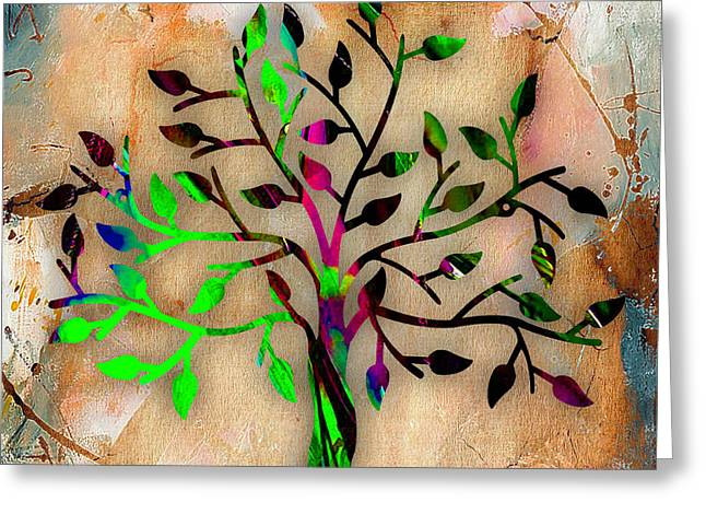 Tree Branch Greeting Cards - Tree Of Life Greeting Card by Marvin Blaine