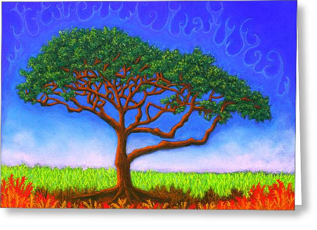 Vibrant Pastels Greeting Cards - Tree Of Life Greeting Card by Michael Heikkinen
