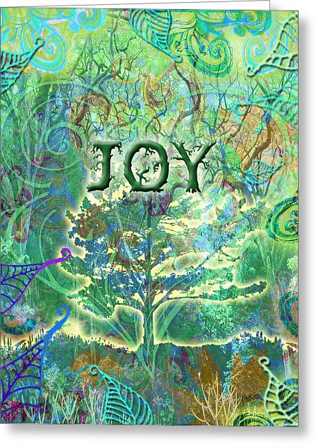 Tree Styling Greeting Card by Alixandra Mullins