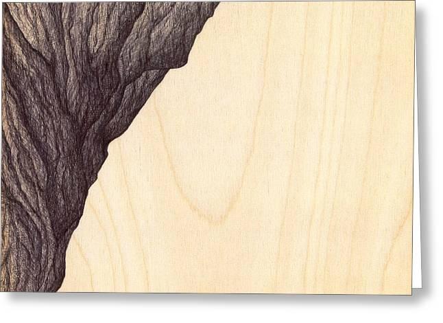 Giuseppe Epifani Greeting Cards - Treerock  Greeting Card by Giuseppe Epifani