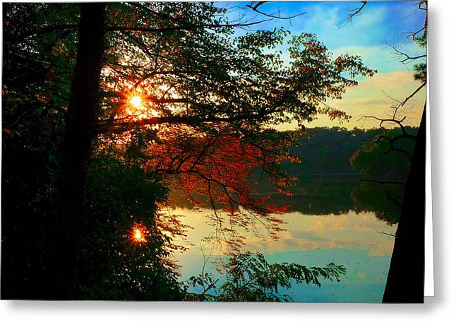 Bob Ross Photographs Greeting Cards - Tribute to Bob Ross Greeting Card by Valerie  Avalos