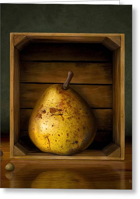 Fantasy Realistic Still Life Greeting Cards - Tribute to Magritte Greeting Card by Bob Nolin