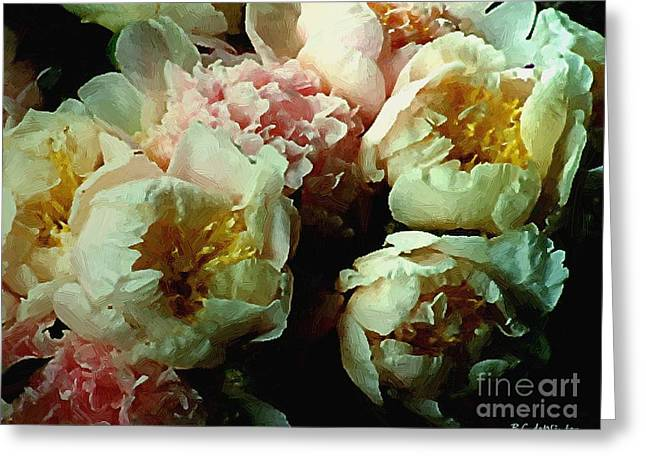 Recently Sold -  - Floral Still Life Greeting Cards - Tribute to the Old Masters Greeting Card by RC deWinter