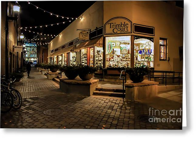 Fort Collins Greeting Cards - Trimble Court Greeting Card by Jon Burch Photography