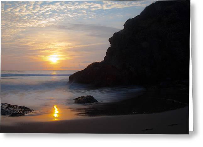 Trinidad Beach Sunset Greeting Cards - Trinidad 2 Greeting Card by Mark Alder