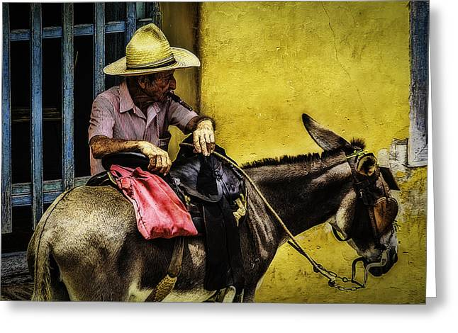 American Colonial Architecture Greeting Cards - Trinidad in Color Part III - DonkeyBoy Greeting Card by Erik Brede