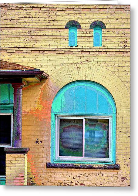 Trinidad Colorado Greeting Cards - Trinidad Turquoise  Greeting Card by Jacqui Binford-Bell