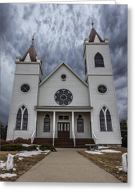Township Greeting Cards - Trinity Greeting Card by Aaron J Groen