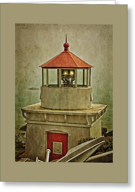 Photo Art Gallery Greeting Cards - Trinidad Head Lighthouse Greeting Card by Thom Zehrfeld