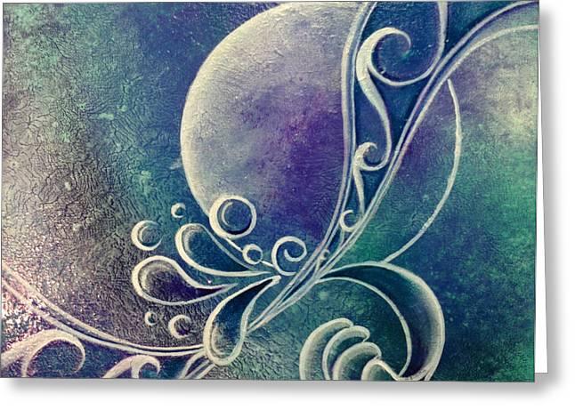 Kiwi Art Greeting Cards - Trinity Greeting Card by Reina Cottier