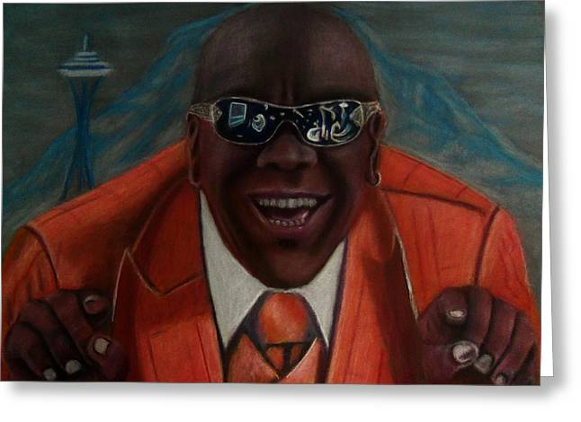 Seattle Pastels Greeting Cards - Triple Platinum feat. Tee-Wanz Greeting Card by D Rogale