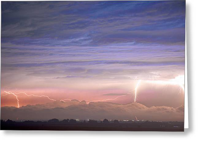 Images Lightning Greeting Cards - Triple Threat Greeting Card by James BO  Insogna