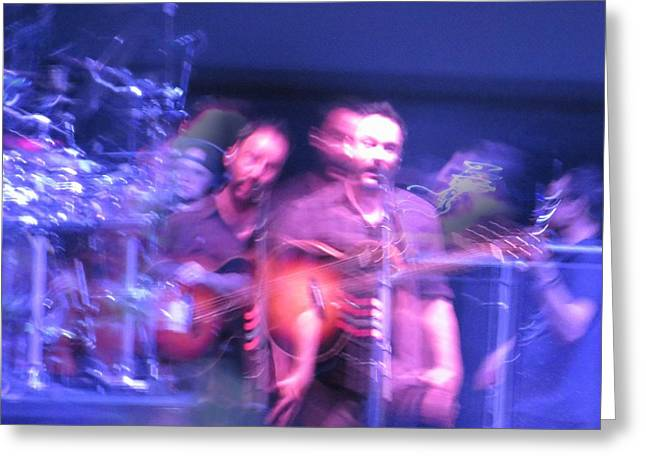 Dmb Greeting Cards - tripy photo of Dave Matthews Greeting Card by Aaron Martens