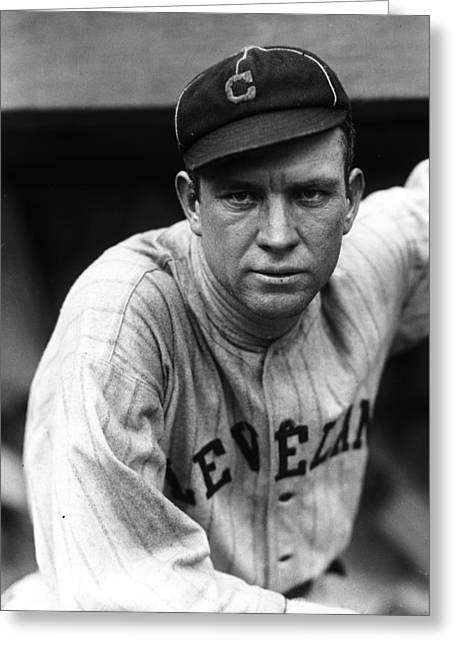Speaker Greeting Cards - Tris Speaker Greeting Card by Retro Images Archive