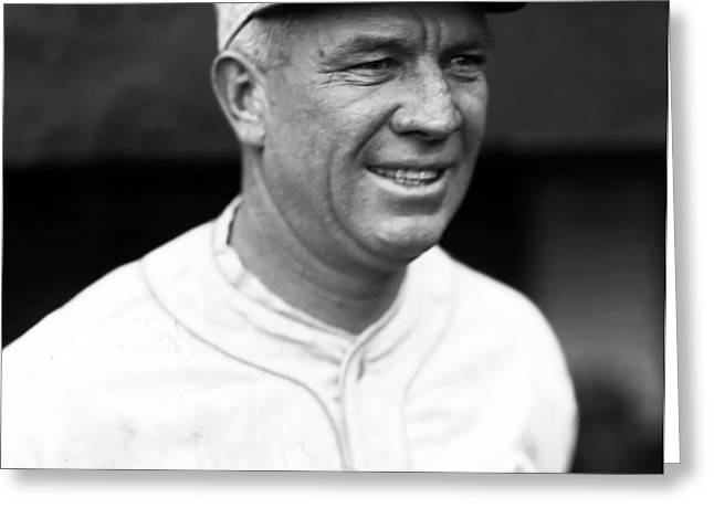 Tristram E. Tris Speaker Greeting Card by Retro Images Archive