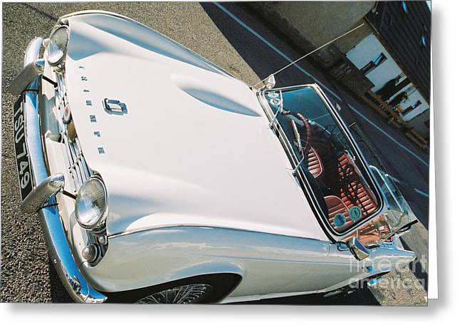 Triumph - The Car -2 Greeting Card by Nu Art