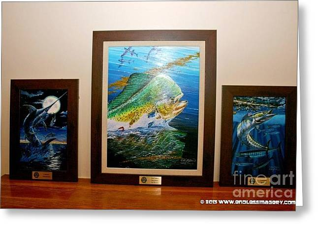Marlin Tournaments Greeting Cards - Trophies Greeting Card by Carey Chen
