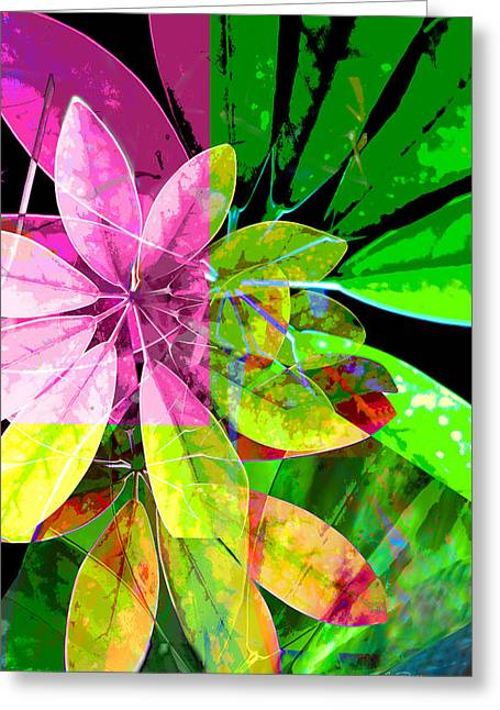 Tropical Delight Two Greeting Card by Ann Powell
