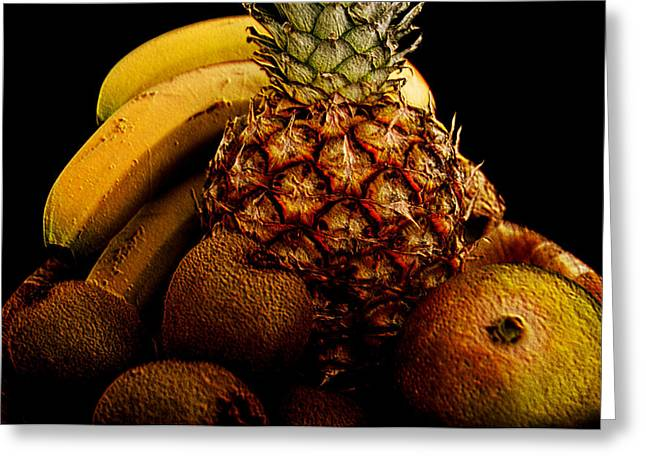 Mango Greeting Cards - Tropical Fruit Greeting Card by Steve Purnell