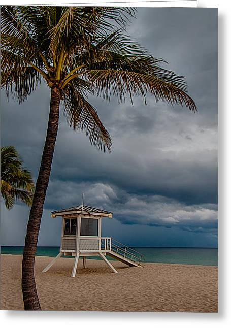 Exciting Surf Greeting Cards - Tropical Paradise Greeting Card by Mike Burgquist