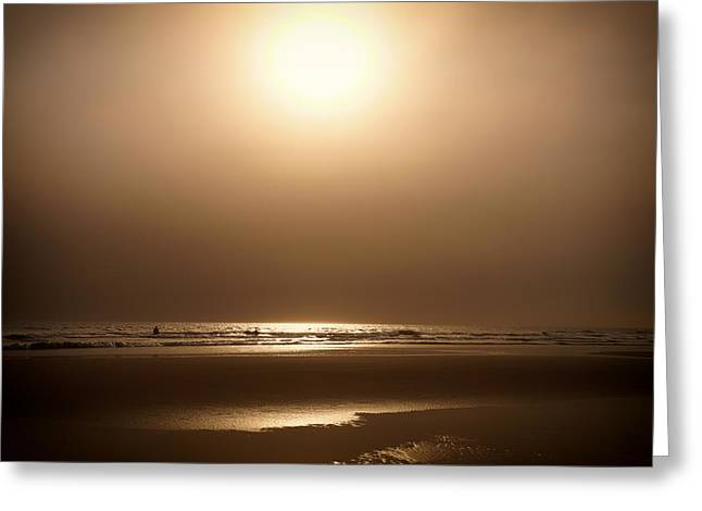 El Salvador Greeting Cards - Tropical Sunset Serenity Greeting Card by Mountain Dreams
