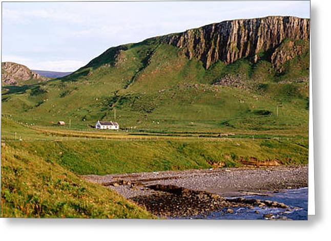 Escarpment Greeting Cards - Trotternish Peninsula, Isle Of Skye Greeting Card by Panoramic Images