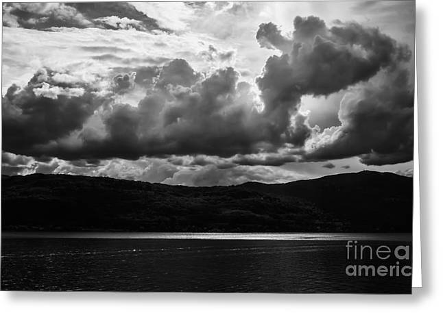 Arona Greeting Cards - Troubled Sky Greeting Card by Mirari  Photography