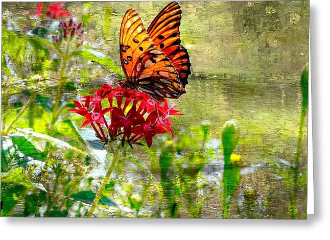 Cocoon Paintings Greeting Cards - True Beauty........... Greeting Card by Tanya Tanski