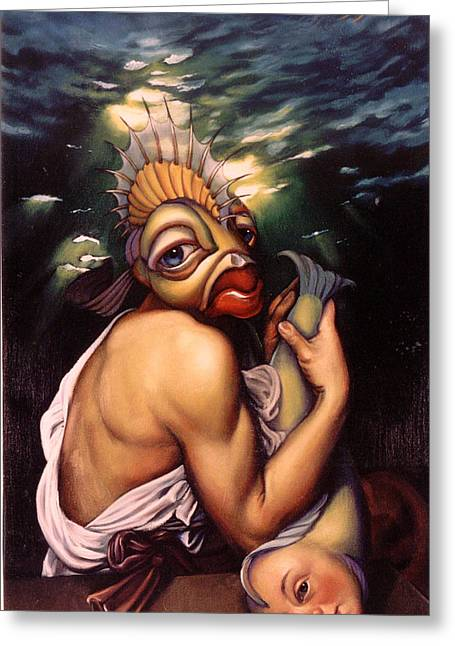 Bacchus Greeting Cards - True Love Greeting Card by Patrick Anthony Pierson