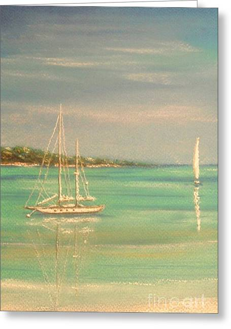 Sailing Pastels Greeting Cards - True Love Greeting Card by The Beach  Dreamer
